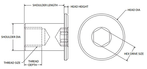 Low Profile Head Socket Drive Bolts : Apex Fasteners
