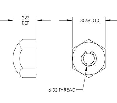 Low Profile Cap Nuts : Apex Fasteners