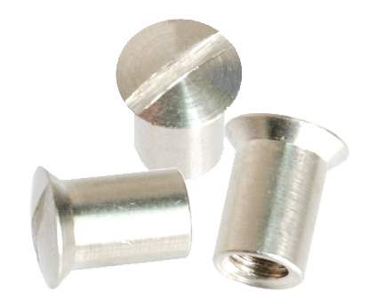 Slotted Head Sex Bolts - Oval Head