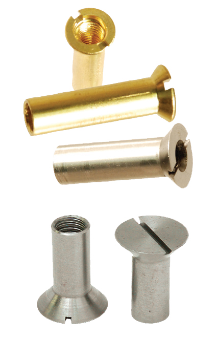 Slotted Head Sex Bolts - Slotted Flat