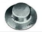 Pushnut® Fasteners Washer Cap Type, Metric