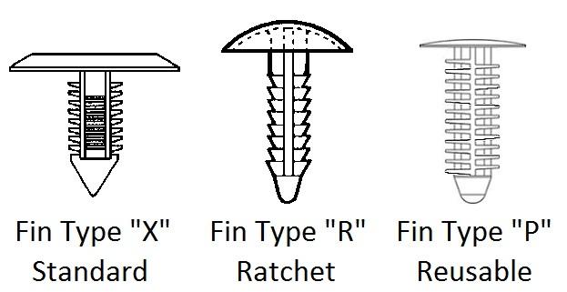 Xmas Tree Clip Fastener Apex Fasteners
